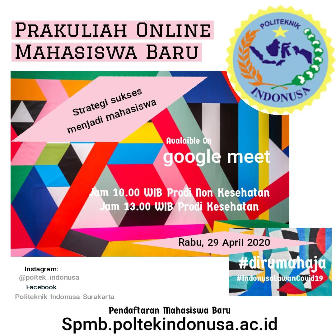 Prakuliah Online Mahasiswa Baru
