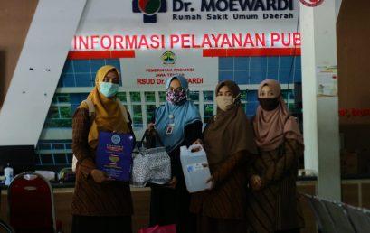 Penyaluran Bantuan Sosial untuk Tenaga Medis