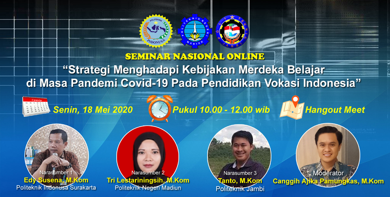 Politeknik Indonusa Surakarta Adakan Webinar Tingkat Nasional