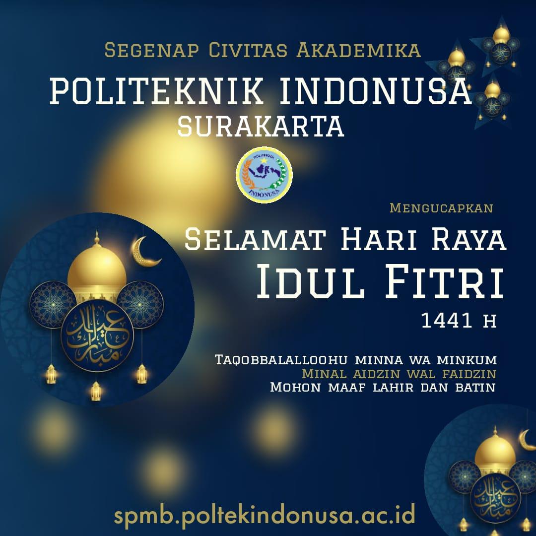 Selamat Hari Raya Idul Fitri ,  1 Syawal 1441 H