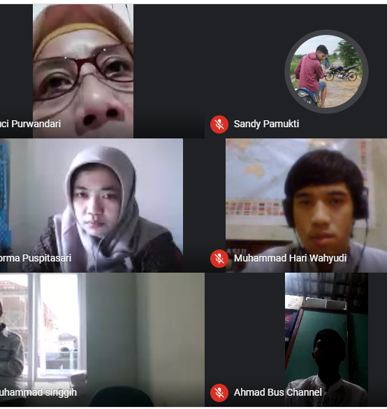 Diskusi Bersama Dan Halal Bihalal Prodi Manajemen Informatika Politeknik Indonusa Surakarta Via Daring/Online