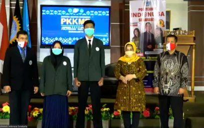 PKKMB (Pengenalan Kehidupan Kampus Bagi Mahasiswa Baru) hari Pertama