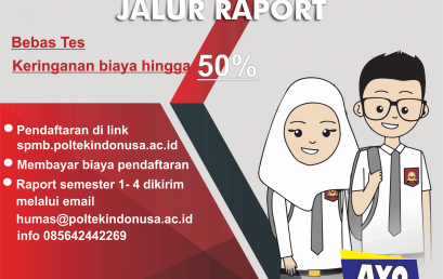 Penerimaan Mahasiswa Baru Jalur Raport