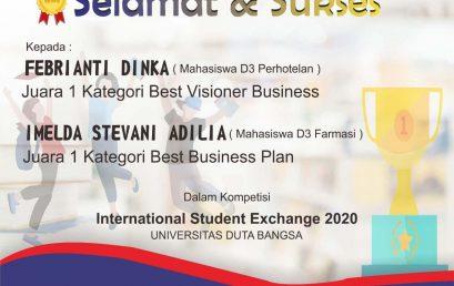 Juara 1 Internasional Student Exchange