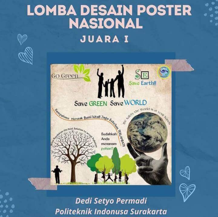 Mahasiswa Farmasi Juara 1 Desain Poster