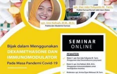 Seminar Online Kefarmasian