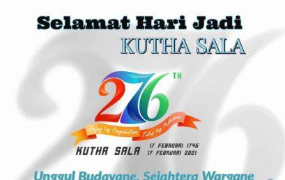 HUT Kutha Sala Ke 276 Tahun