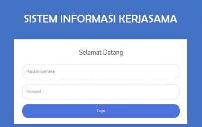 Sistem Informasi Kerjasama