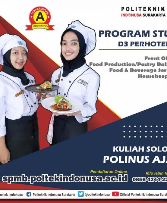 Program Studi D3 Perhotelan