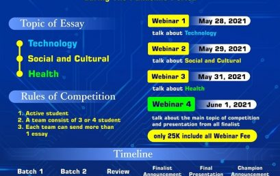 International Essay Writing Competition and Webinar