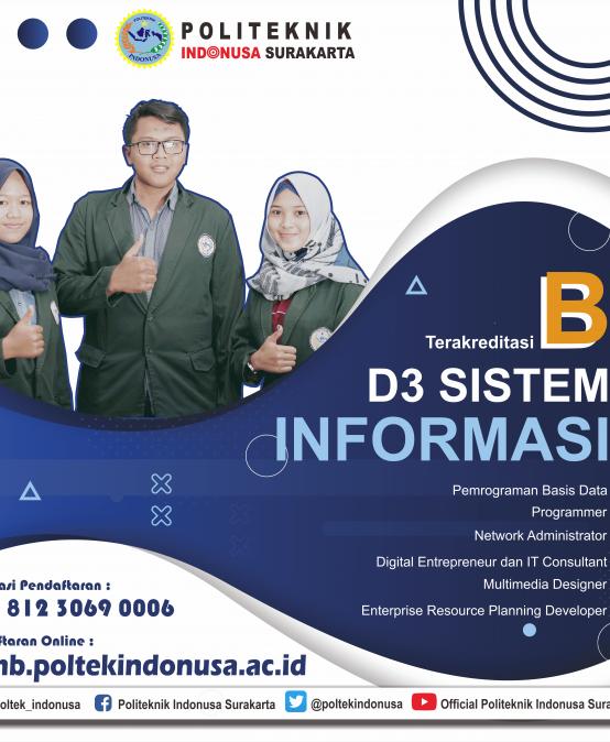 Program Studi Sistem Informasi Politeknik Indonusa