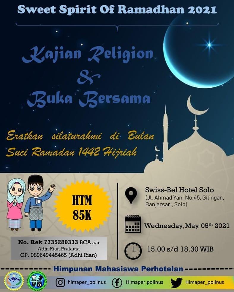 Kajian Religion & Buka Bersama
