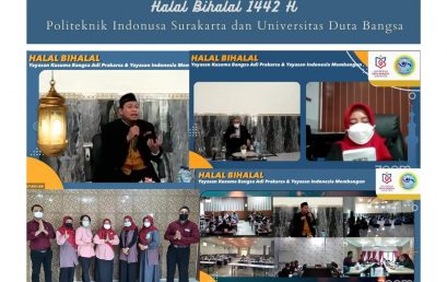 Halal Bihalal 1442 H Politeknik Indonusa Surakarta
