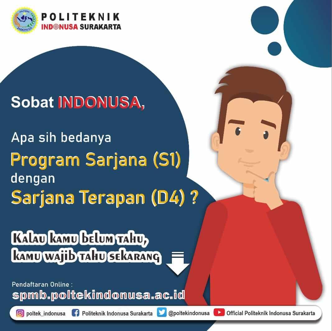 Perbedaan Program Sarjana (S1) dan Sarjana Terapan (D4)