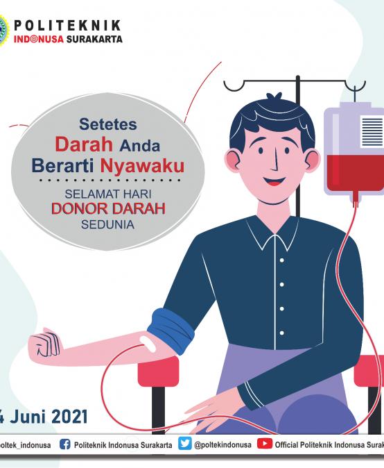 Hari Donor Darah Sedunia 2021