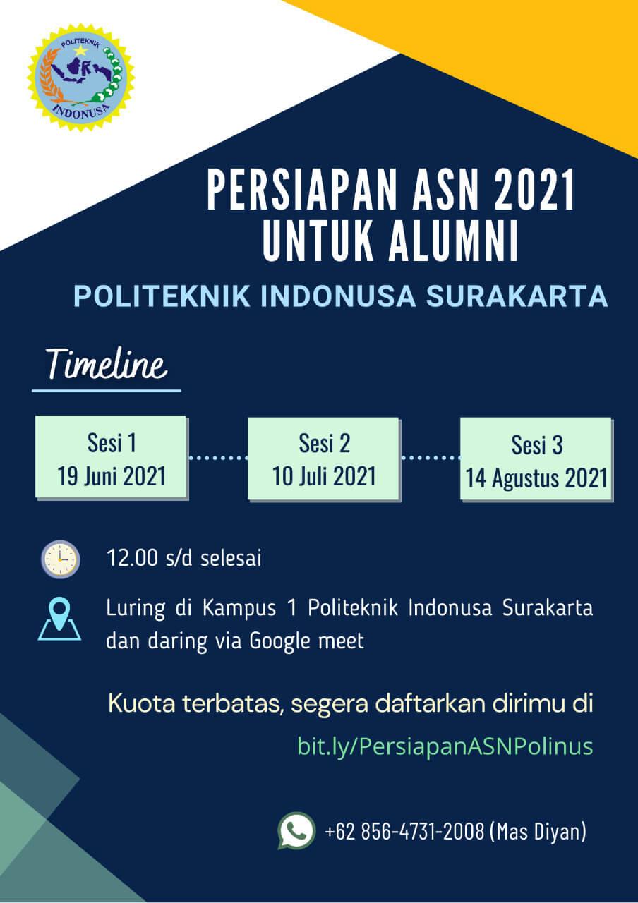 Persiapan ASN 2021 untuk Alumni