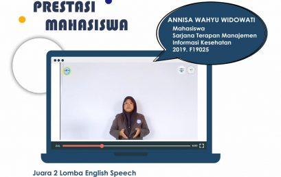 Juara TOR (Terms of Reference) Kompetisi Mahasiswa English Speech