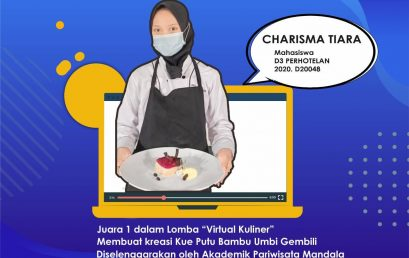 Mahasiswa Politeknik Indonusa Surakarta  Juara 1 Lomba Virtual Kuliner