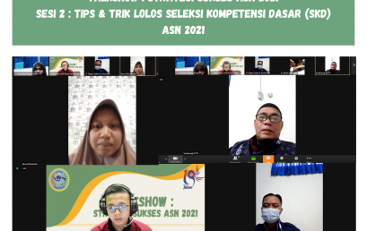 Talkshow : Strategi Sukses ASN 2021