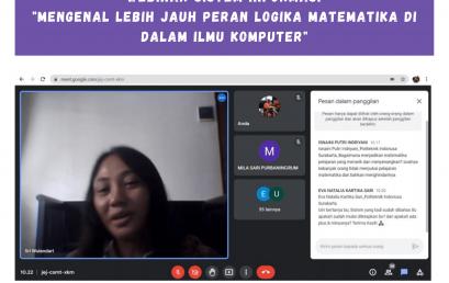 Webinar Mahasiswa Sistem Informasi Politeknik Indonusa