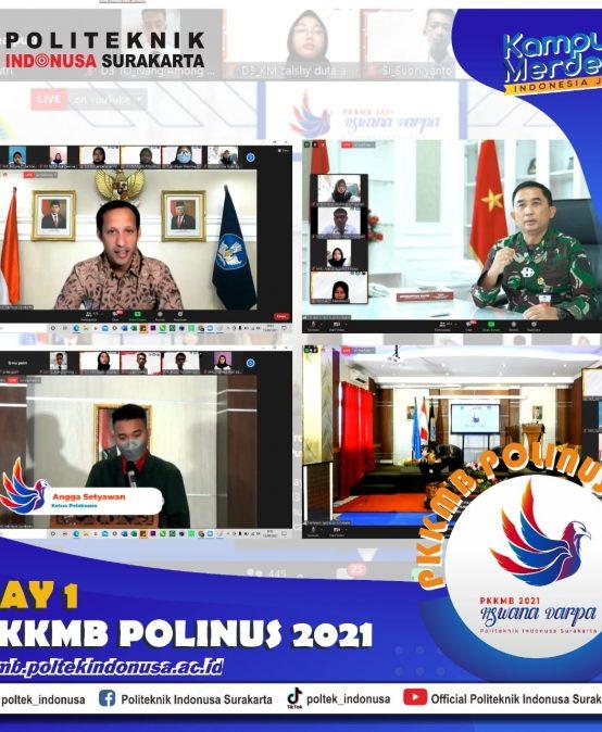 PKKMB Hari Pertama Politeknik Indonusa Surakarta