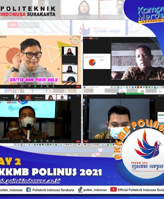 PKKMB POLINUS 2021 Hari kedua