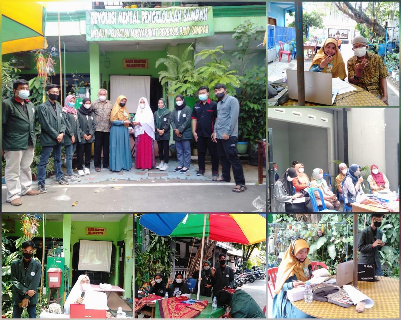 KKN Tematik dan Webinar Arti Penting Bank Sampah Bagi Lingkungan