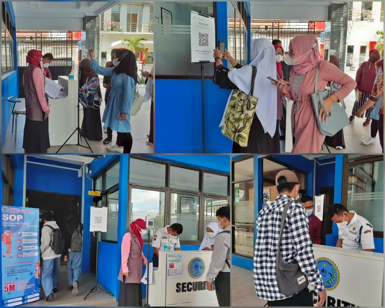 Politeknik Indonusa Surakarta Gelar Pembelajaran Tatap Muka (PTM) Terbatas